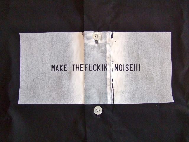 MDY MAKE THE FUCKIN' NOISESHIRT BLACK FT3