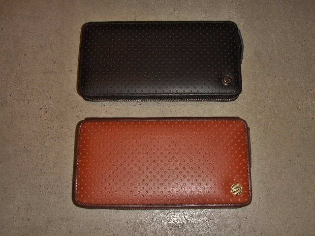 SILAS PUNCHING LEATHER WALLET