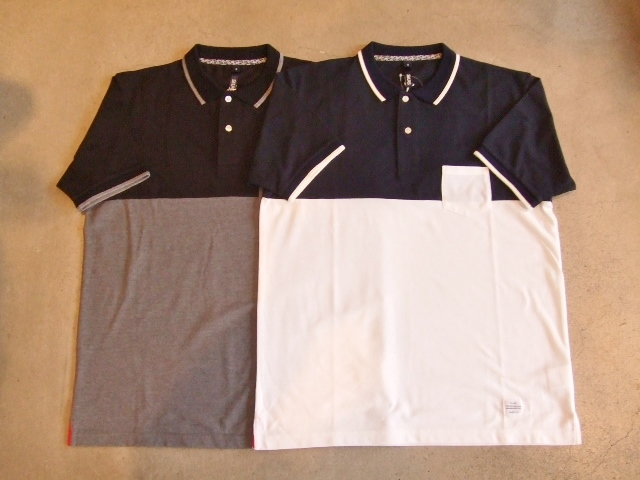 SILAS TWO TONE POLO