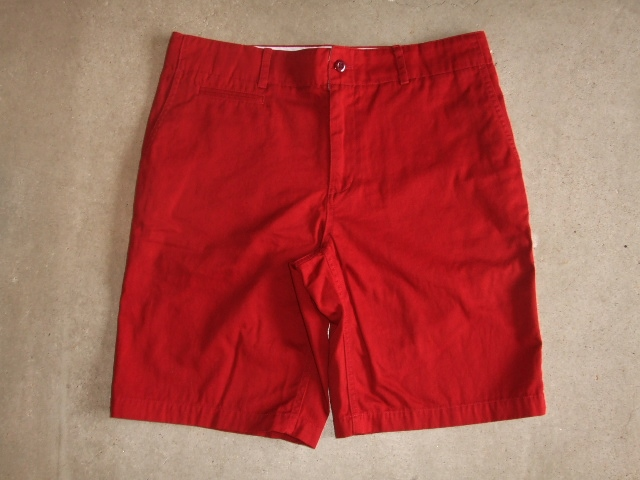 SILAS ARMAN CHINO SHORT RED FT1