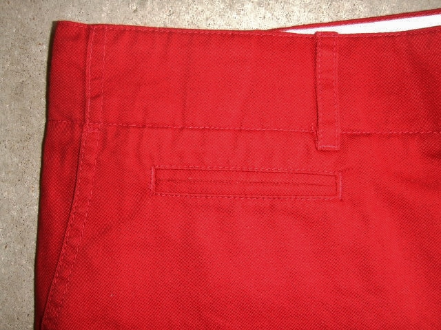 SILAS ARMAN CHINO SHORT RED FTPT