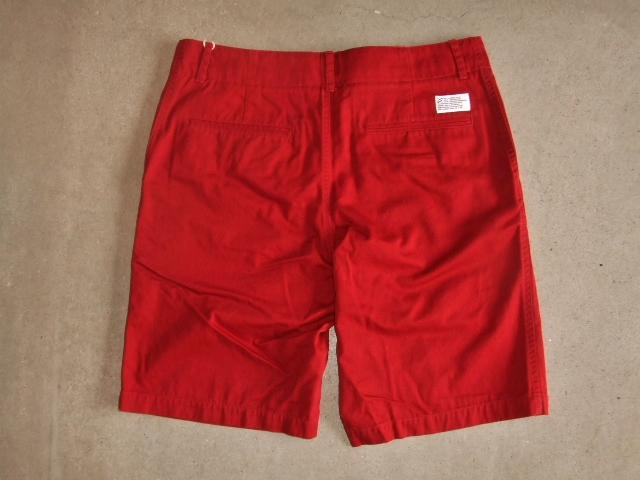 SILAS ARMAN CHINO SHORT RED BK1