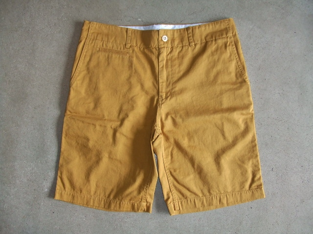 SILAS ARMAN CHINO SHORT YELLOW