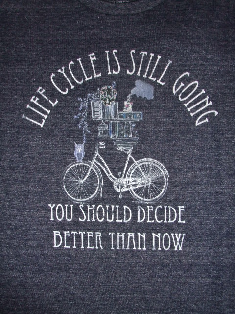 rehacer Cycle SS TEE NAVY