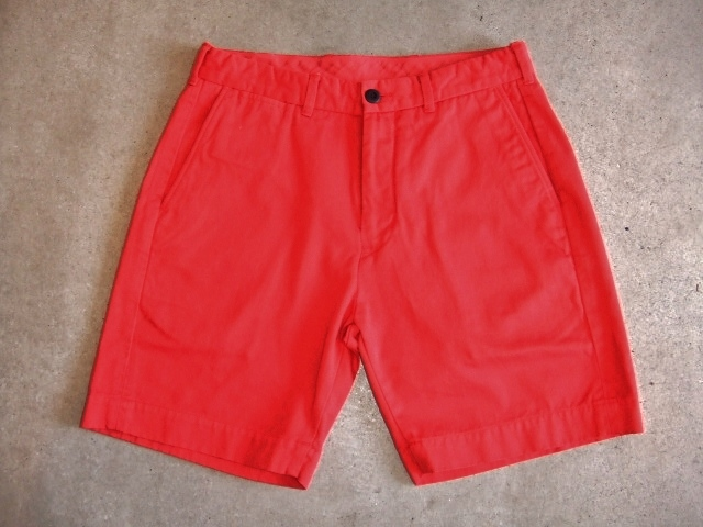 MDY CHINO SHORTS RED FT1