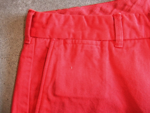 MDY CHINO SHORTS RED FT3