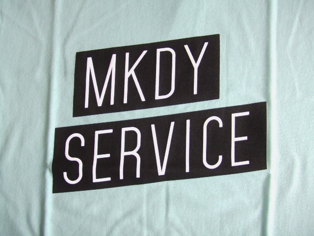 MDY MKDY SERVICE SS TEE SKY FT
