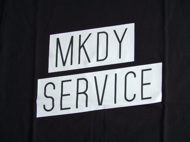 MDY MKDY SERVICE SS TEE BLACK FT