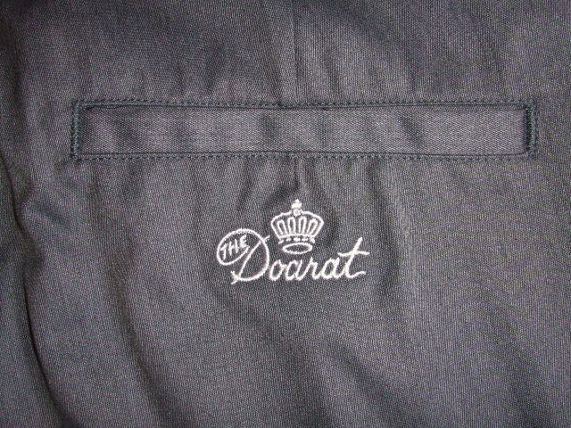 DOARAT HEATHERED CHINO PANTS GRAY BK2