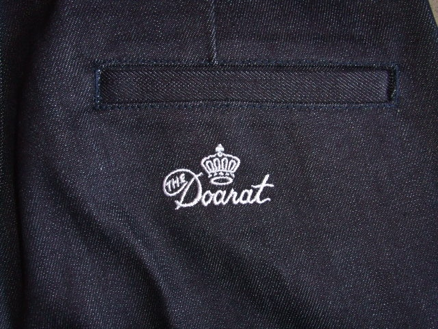 DOARAT DENIM CHINO PANTS BK2