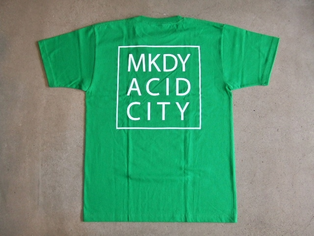 MDY ACID CITY SS TEE GREEN BK1
