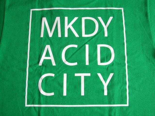 MDY ACID CITY SS TEE GREEN BK2