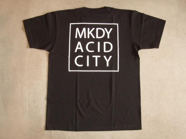 MDY ACID CITY SS TEE BLACK BK1