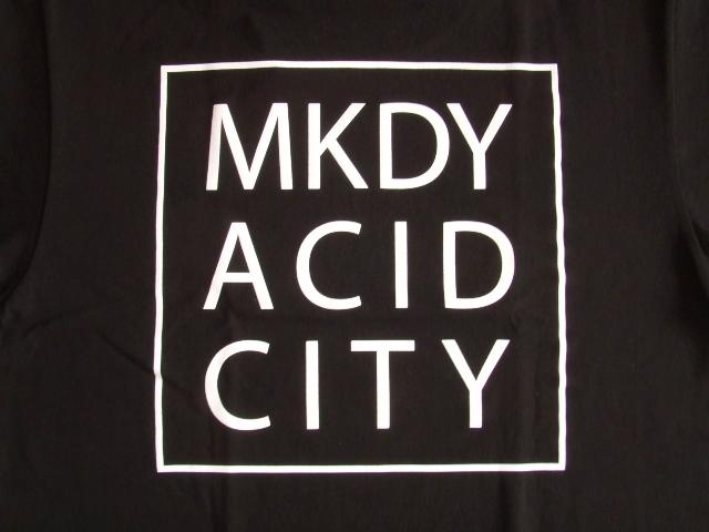 MDY ACID CITY SS TEE BLACK BK2
