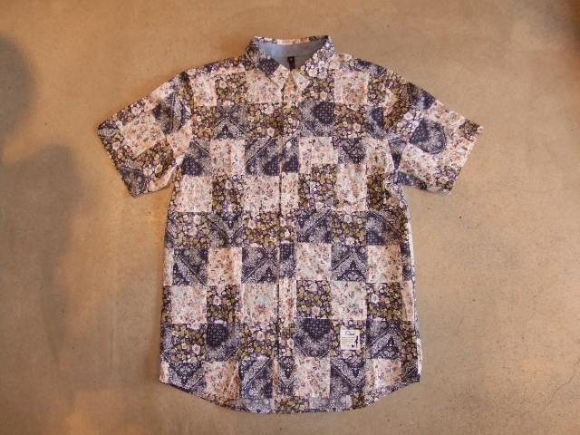 SILAS DAVY PATCHWORK SHIRT