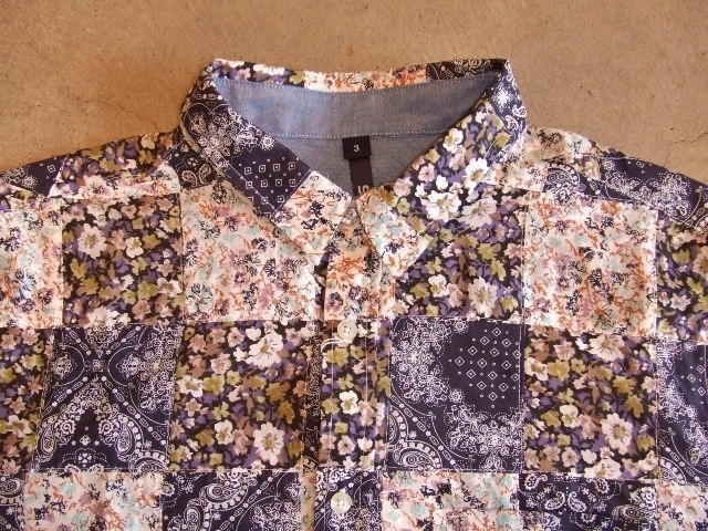 SILAS DAVY PATCHWORK SHIRT FT