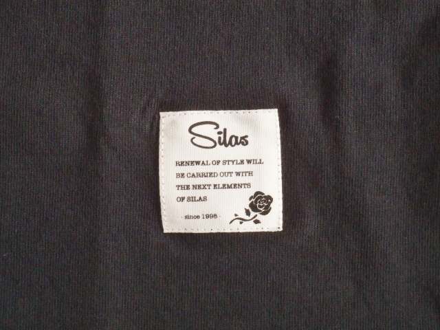 SILAS FLAG SS TEE BLACK FT3