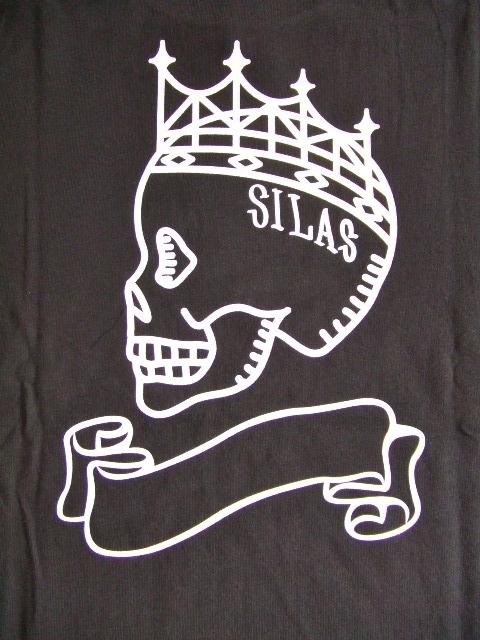 SILAS FLAG SS TEE BLACK BK2