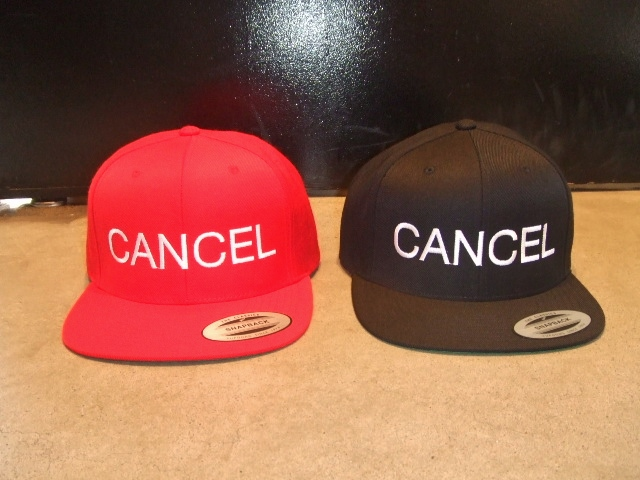 mdy CANCEL SNAP BACK CAP