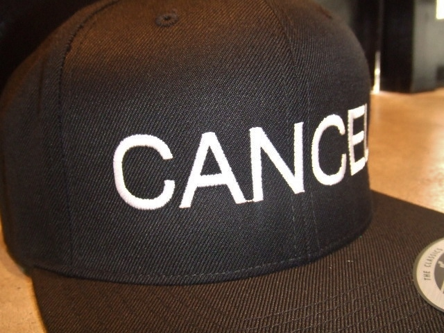mdy CANCEL SNAP BACK CAP BLACK FT2