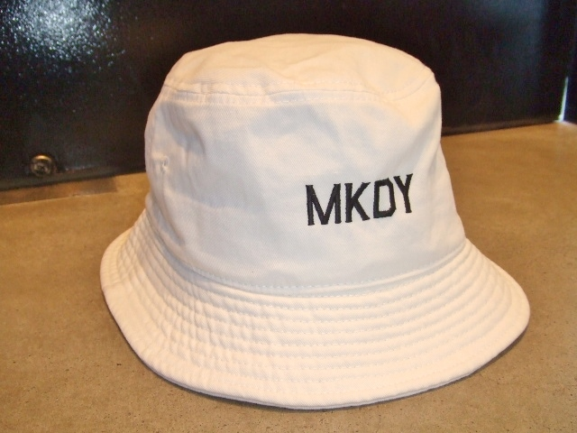 MDY BUCKET HAT WHITE FT1