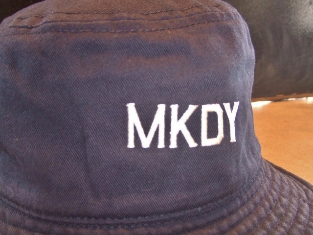 MDY BUCKET HAT NAVY FT2