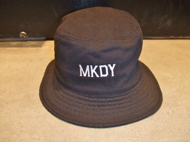 MDY BUCKET HAT BLACK FT1
