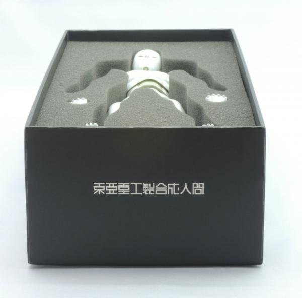 東亜重工 合成人間:パッケージ・東亜重工ロゴ