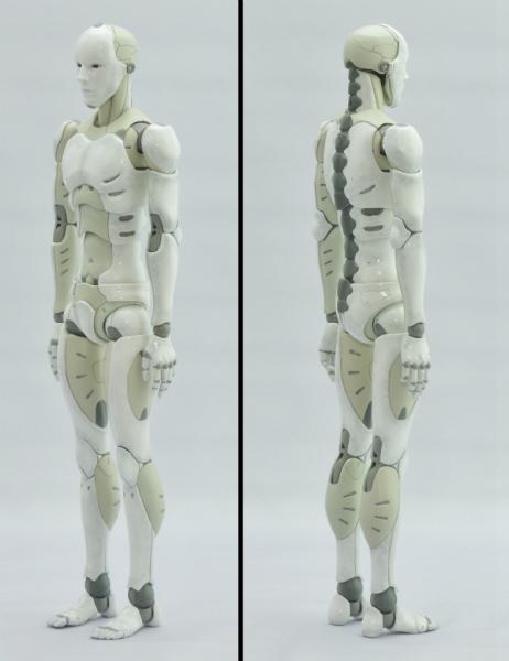 東亜重工 合成人間:左斜め前、右斜め後ろ
