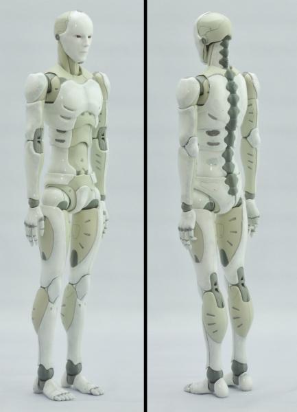 東亜重工 合成人間:右斜め前、左斜め後ろ