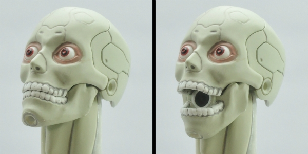 東亜重工 合成人間:顎の可動