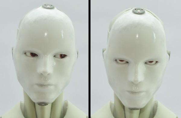 東亜重工 合成人間:眼球の可動(マスク装着状態)