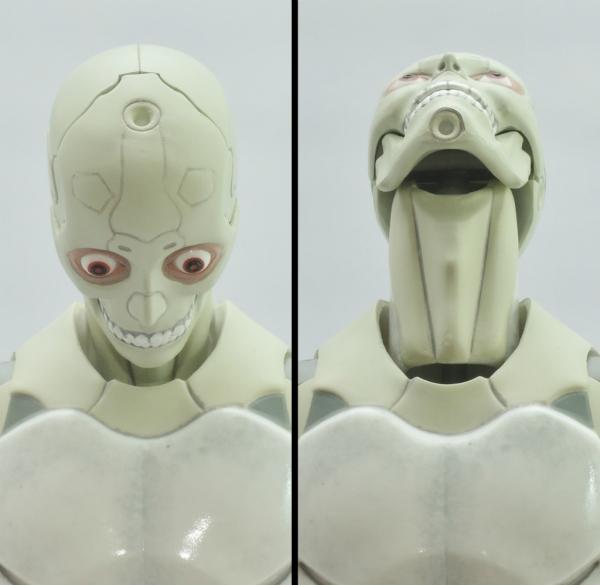 東亜重工 合成人間:首の上下可動
