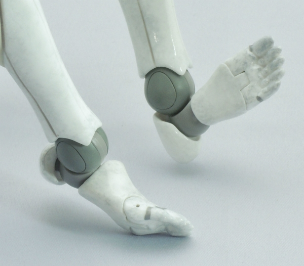東亜重工 合成人間:足首の可動部