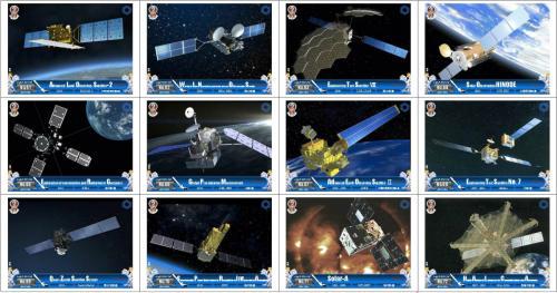 オリジナルトレーディングカード第6集「人工衛星(JAXA編)」