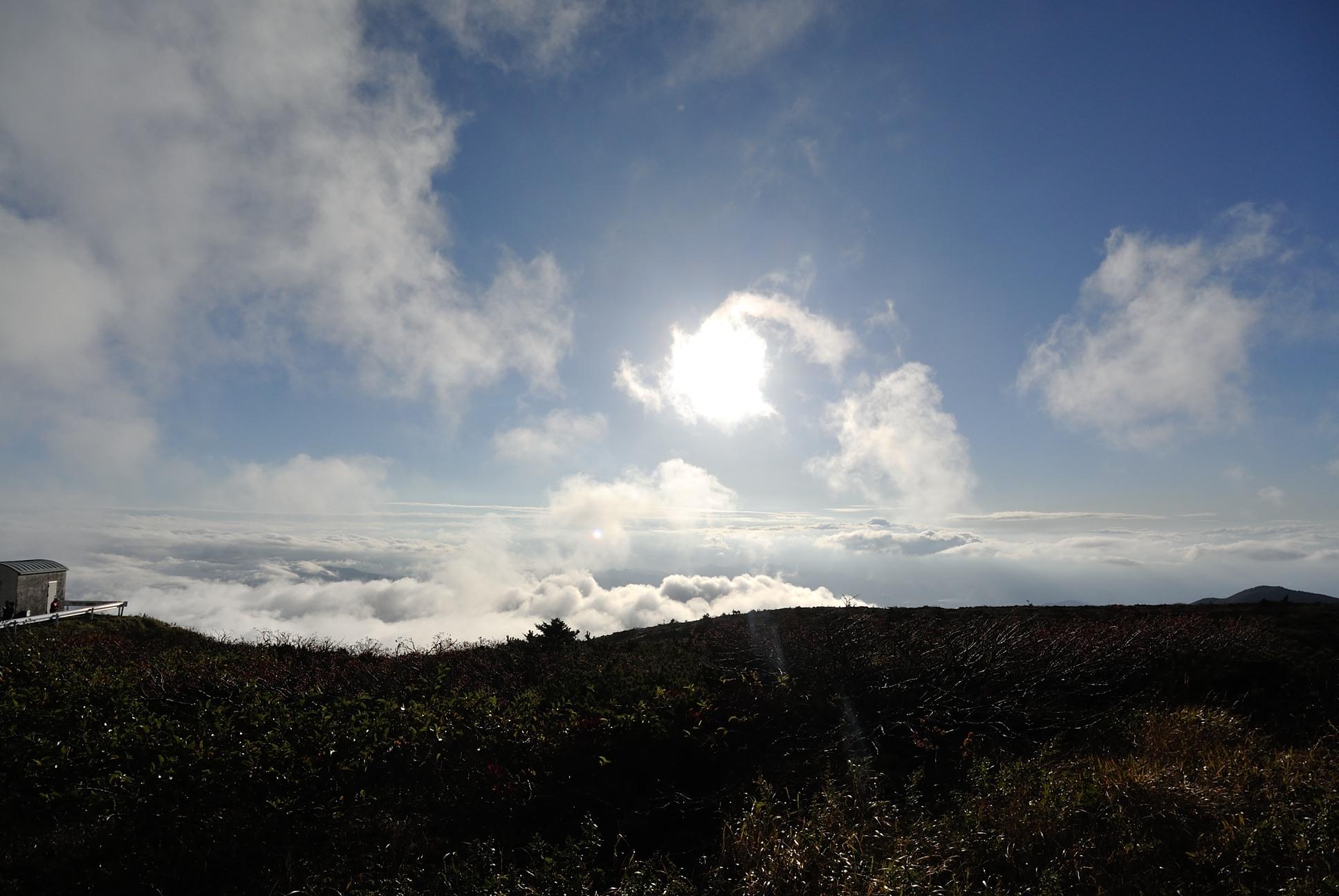 素晴らしい雲海だ