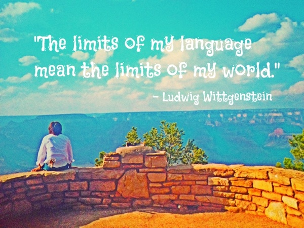 Limits of my language OG English 英語