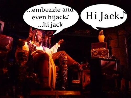 カリブの海賊 ジャックスパロゥとインコ 英語 日本語訳