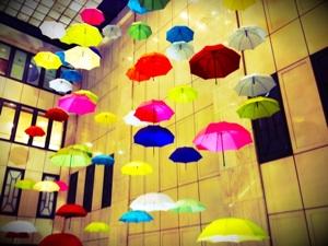 傘 雨 英語 英会話