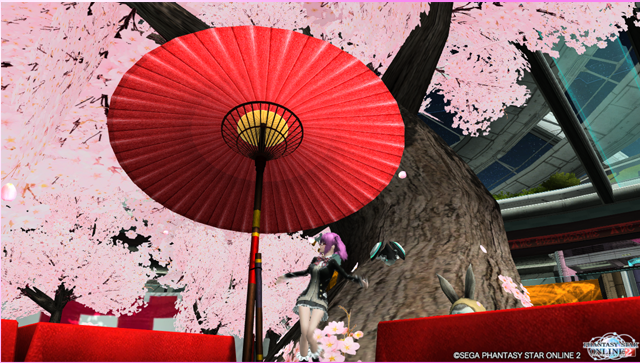 【PSO2 オミ】春満開1