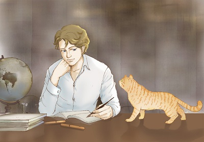 竹流と猫1