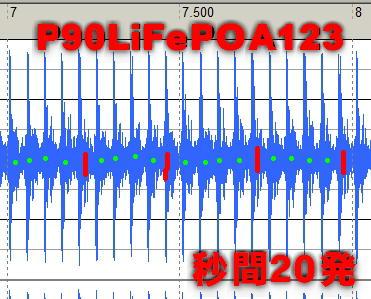 P90_99V_A123_秒間20発