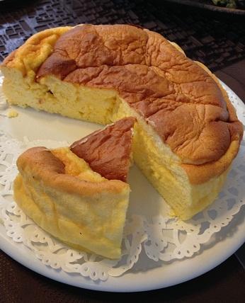 manngoさんチーズケーキ