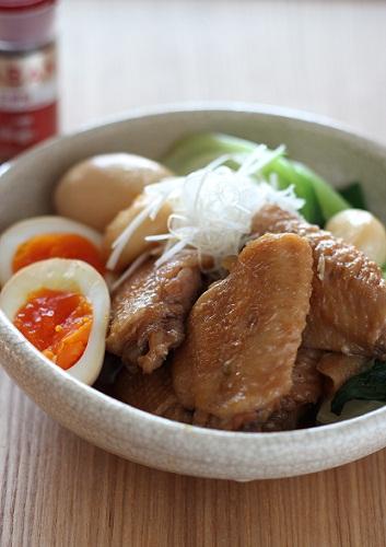 中華手羽先煮2
