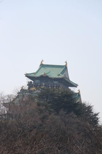 大阪城桃園