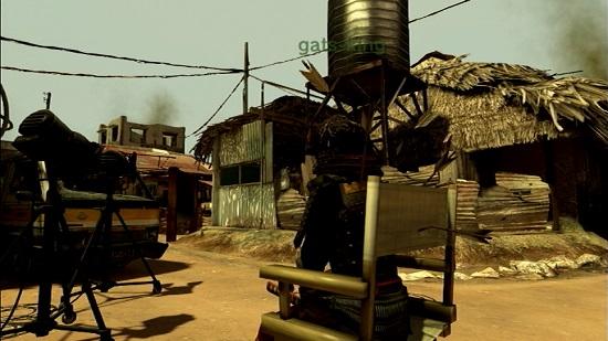 PS3 PlayStation®Home PSHOME バイオハザード5 プラチナトロフィー 廃墟 撮影スタジオ