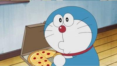 アニメ アメリカ ドラえもん ピザ ドラ焼き
