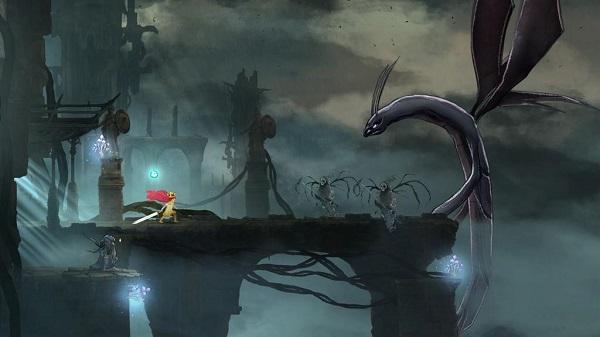 PS4 PS3 PSVITA CHILDofLIGHT チャイルドオブライト プレイ日記 オーロラ姫