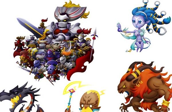 3DS 音ゲー シアトリズムファイナルファンタジーカーテンコール シアトリズムFFCC 召喚獣