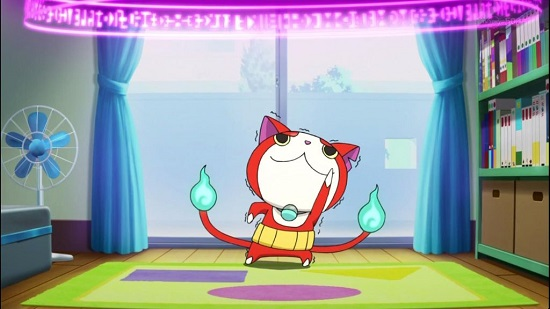 ゲームアニメ 妖怪ウォッチ コマさん コマじろう じんめん犬 犬脱走 のぼせトンマン ながばな フミちゃん 情緒不安定 ジバにゃん メラメライオン グレるりん